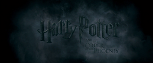 Harry Potter and the Order of the Phoenix non-animated
