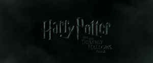 Harry Potter and the Deathly Hallows – Part 2 non-animated