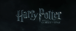 Harry Potter and the Goblet of Fire non-animated