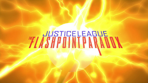 Justice League The Flashpoint Paradox non-animated