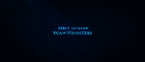 Percy Jackson Sea of Monsters closing non-animated