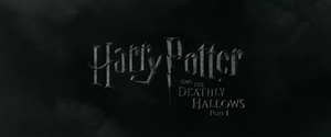 Harry Potter and the Deathly Hallows – Part 1 non-animated