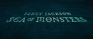 Percy Jackson Sea of Monsters opening non-animated