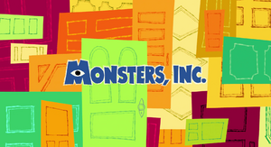 Monsters, Inc. (film) non-animated