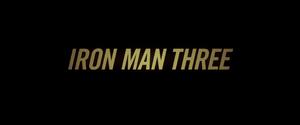 Iron Man 3 non-animated