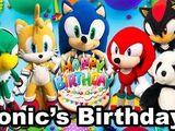 Sonic's Birthday!