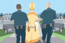Bishop arrest