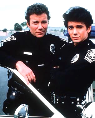 Vince Romano Adrian Zmed And TJ Hooker William Shatner