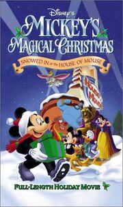 Mickey Magical Christmas 2001 VHS