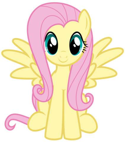 File:Fluttershy Sitting.png
