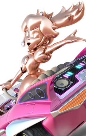 Pink Gold Peach Icon