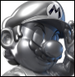 Metal Mario colored