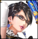 Bayonetta colored