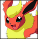 Flareon colored