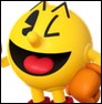 Pac-Man colored