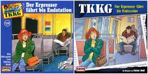 129 - Der Erpresser fährt bis Endstation - CD-Cover (Alt und Neu)