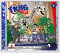 TKKG Junior 5 - Die Dino-Diebe (Hörspiel)