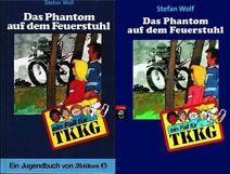 Cover Phantom auf dem Feuerstuhl - Pelikan und Cbj