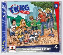 TKKG Junior 8 - Der verborgene Schatz (Hörspiel)