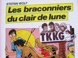 Les braconniers du clair de lune (französisches Buch)