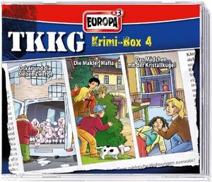Cover - Krimi-Box 4 - 3 CDs