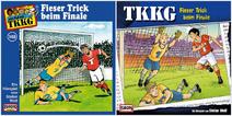 148 - Fieser Trick beim Finale - CD-Cover (Alt und Neu)