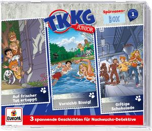 Cover - Spürnasen-Box 1 - 3 CDs