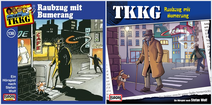 138 - Raubzug mit Bumerang - CD-Cover (Alt und Neu)