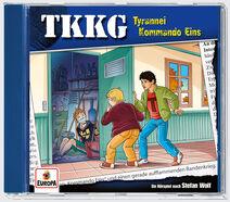 Cover TKKG Tyrannei Kommando Eins