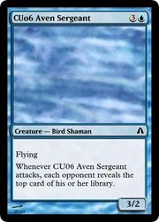 CU06 Aven Sergeant