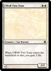 CW08 Two Tone