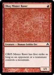 CR05 Mister Rawr