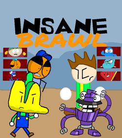 Insane Brawl Poster