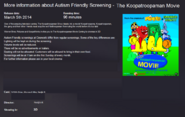 TKTMM Cineworld Austim Screenings