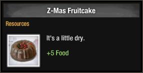 Z-Mas Fruitcake 2018