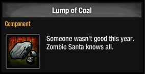 Lump of Coal 2014