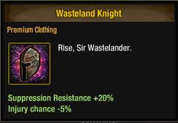 Tlsdz wasteland knight
