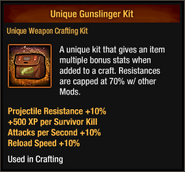 Unique Gunslinger Kit