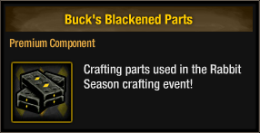 Buck's Blackened Parts