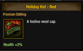 Tlsdz Holiday Hat - Red