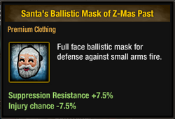 Tlsdz santa's ballistic mask of z-mas past