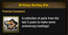 Birthday Bootleg Bits