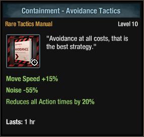 Containment - Avoidance Tactics