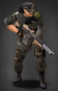 Survivor equipped with scoped M60-E6