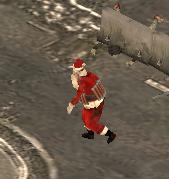 Exploding Santa Zombie