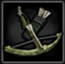 Hunting crossbow icon