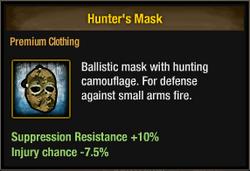 Tlsdz hunter's mask
