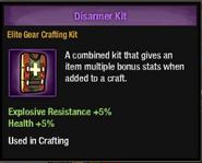 Disarmer kit