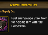 Ivan's Reward Box