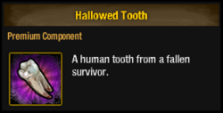 Tlsdz hallowed tooth